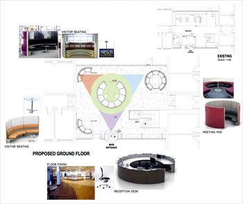 Interior Design  Office Space on Tailored Interior Office Space Planning    Office Design And Office