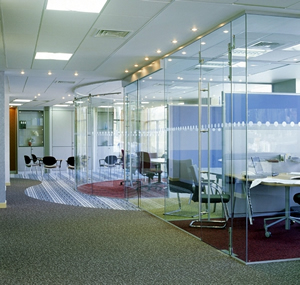 Komfort glazed partitions