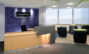 Interior Reception Furniture Disability Audits for Office Refurbishments.