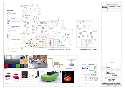 Office Space Planning, Virtual Office creative illustrations.